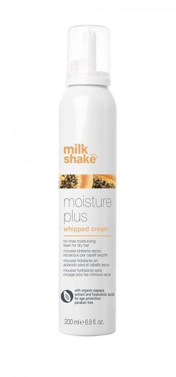 Milk Shake Moisture Plus Whipped Cream - Kosteuttava Hiusvaahto 200ml
