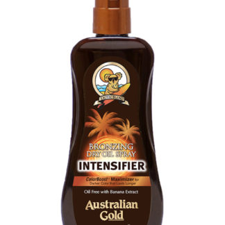 australian gold bronzing intensifier spray