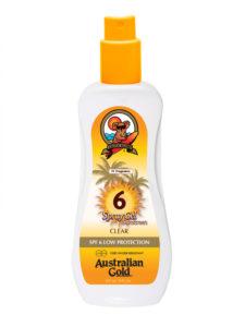 australian gold spf6 clear spray