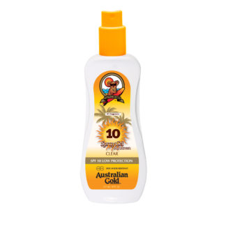 australian gold spf10 clear spray