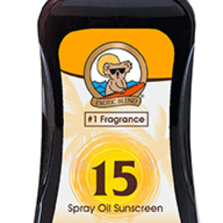 australian gold spf15 bronze spray oil