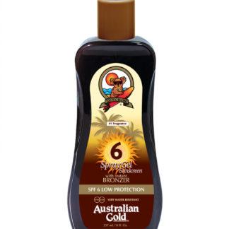 australian gold spf6 bronze spray