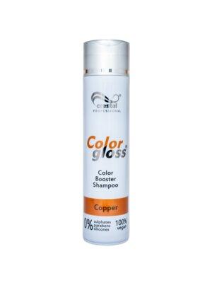 Crestol Color Gloss Color Booster Shampoo, Copper, 250ml